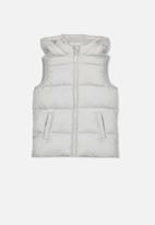 Cotton On - Billie puffer vest - grey