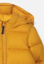 Cotton On - Frankie puffer jacket - yellow