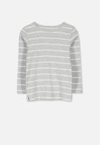 Cotton On - Jessie crew - grey & white