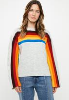 Noisy May - Rainbow sweat - grey