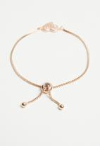 Joy Collectables - Bracelet with heart - rose gold