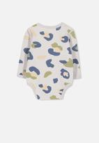 Cotton On - Mini long sleeve bubby - multi