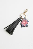 Typo - Wallet & key charm set - black