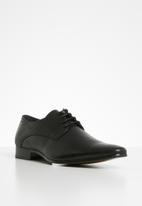 Gino Paoli - Julian formal lace-up - black
