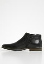 Gino Paoli - Michael slip-on boot - black