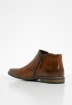 Gino Paoli - Michael slip-on boot -tan