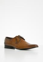 Gino Paoli - Oliver formal lace-up - tan
