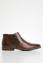 Gino Paoli - Michael slip-on boot - brown
