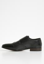 Superbalist - Breedon leather monk strap - black