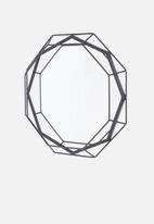 Present Time - Linea mirror - black