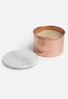 Sixth Floor - Chelsea candle cannister - rose gold