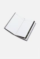 Typo - Undated ideas planner - black