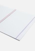 Typo - A4 spinout notebook 120 pages - multi