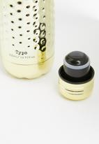 Typo - Premium metal drink bottle - gold