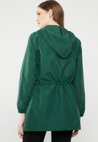 STYLE REPUBLIC - Tape detail parka - green