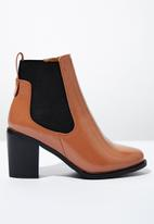 Cotton On - Bella ankle boot - tan & black