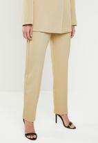STYLE REPUBLIC - Structured wide leg trouser - neutral