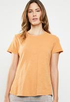Cotton On - The crew T-shirt - orange