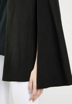 STYLE REPUBLIC - Melton cape - black