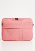 Escape Society - Laptop folio - pink