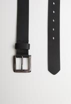 Superbalist - Smart slim belt - black