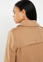 G Couture - Melton coat - brown