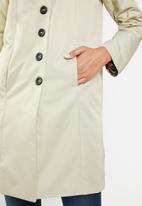 edit - Classic car coat - beige