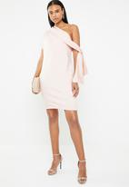DAVID by David Tlale - Winnie foldover dress - pink