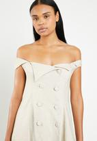 DAVID by David Tlale - Trench dress - beige