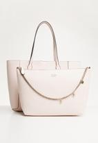 GUESS - Uptown chic santorini tote - pink