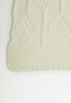 Superbalist - Chunky knit scarf - cream