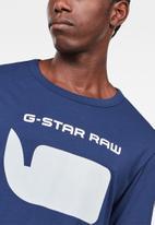 G-Star RAW - Seii long sleeve tee - blue