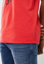 Diesel  - Diego-xc short sleeve tee - red