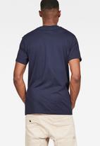 G-Star RAW - Graphic 8 r t short sleeve tee - blue