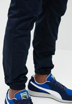 STYLE REPUBLIC - Kroos cuffed chino - navy