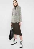 Vero Moda - Fanya long sleeve blazer - multi