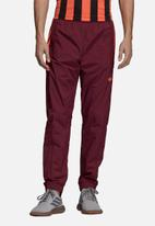 adidas Originals - Flames RK woven track pants - burgundy
