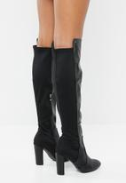 Miss Black - Over the knee boot - black