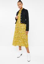 Superbalist - Peasant dress - yellow