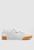 PUMA - Cali Canvas - puma white