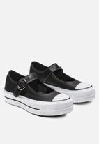 Converse - Chuck Taylor All Star Mary Jane - Ox - black / black / white