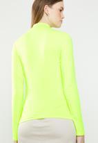 Superbalist - Lumo turtle neck top - neon yellow