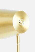 Present Time - Noble floor lamp - gold