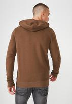Cotton On - Fleece pullover - brown