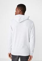 Cotton On - NYC 91 fleece pullover - grey