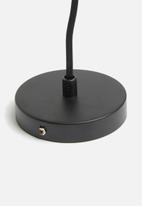 Sixth Floor - Poise pendant - black