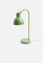 Sixth Floor - Lauren table lamp - sage