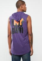 Cotton On - Hustle muscle tank - purple