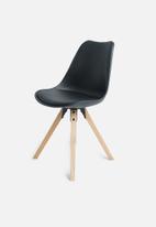 Sixth Floor - Dima chair - black