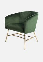 Sixth Floor - Ramsey resting chair - forest green
